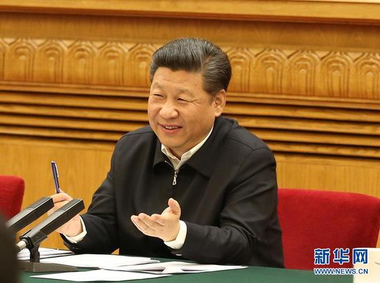 4月19日,中共中央总书记、国家主席、中央军委主席、中央网络安全和信息化领导小组组长习近平在北京主持召开网络安全和信息化工作座谈会并发表重要讲话。新华社记者 马占成 摄