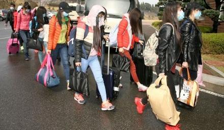 13名朝鲜员工集体投奔韩国