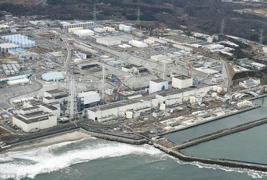 资料图片:福岛核电站