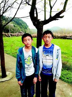 村里的双胞胎们。