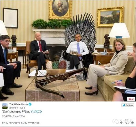 奥巴马凭啥提前看完《权力的游戏》第六季?|奥巴马|权力的游戏