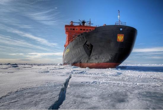 俄罗斯核动力破冰船