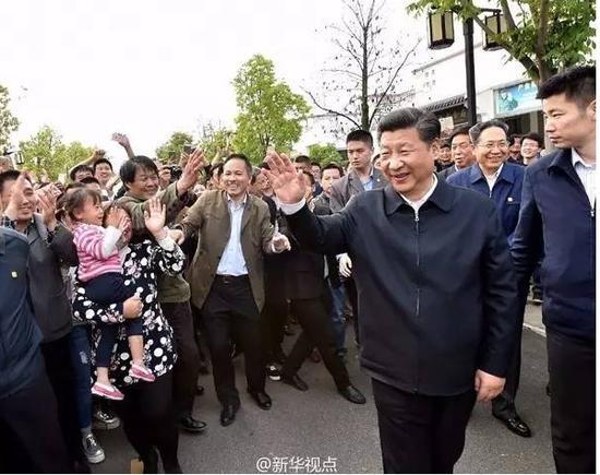 习近平考察小岗村 重温中国改革历程