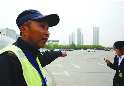 事发地松江榜首公民病院泊车局面积近2000平方米,可停放300辆车