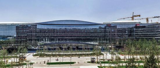 新浪总部大楼远景