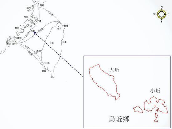 乌丘乡位置示意