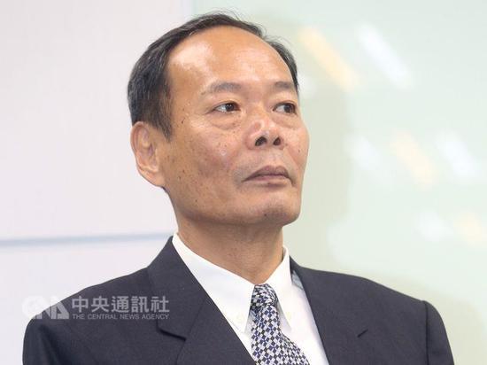 """台湾当局""""海巡署署长""""李仲威(图片来源:""""中央社"""")"""