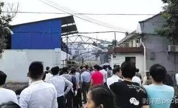5月23日,上海青浦区上海焦耳蜡业有限公司厂房爆炸已造成3人死亡。