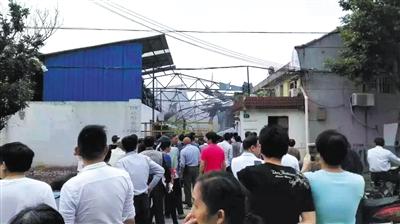 2016年5月23日,上海青浦区上海焦耳蜡业有限公司厂房爆炸已造成3人死亡。