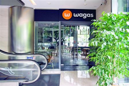 今天沃歌斯中区广场店大门闭合