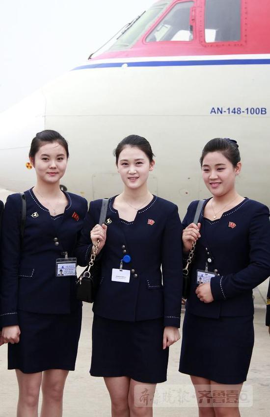 朝鲜的飞机来济南了!朝鲜空姐来济南了!