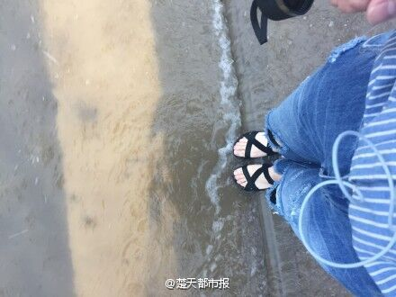 看海模式的武汉来了