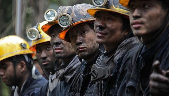 煤矿工人是尘肺病的重灾人群。图像来历:收集