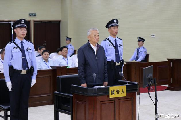 白恩培案庭审现场。