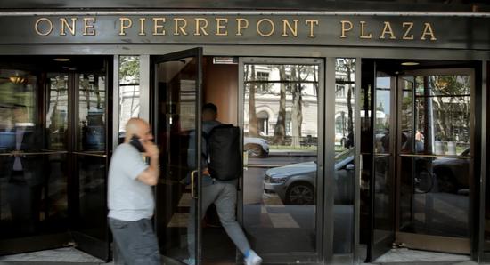 """""""皮尔庞广场""""大楼的10、11楼被希拉里租用作为竞选总部。"""
