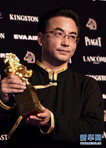 资料图:藏族导演万玛才旦。