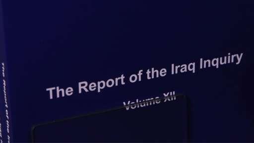 英出台伊战调查报告 布莱尔称 我担全责