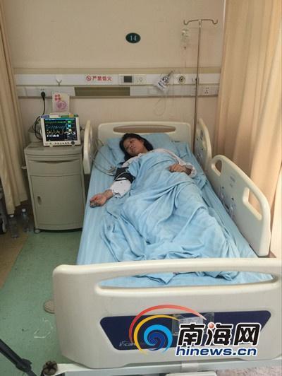被打怀孕女护士