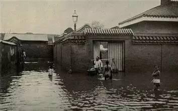 历史上被淹的武汉