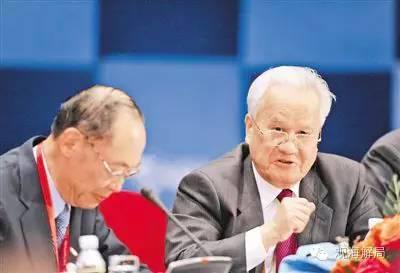 2009年4月19日,陈锦华同志在博鳌亚洲论坛年会圆桌会议上发言。