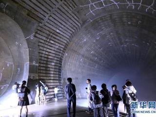 探访东京地下巨大蓄水分洪设施