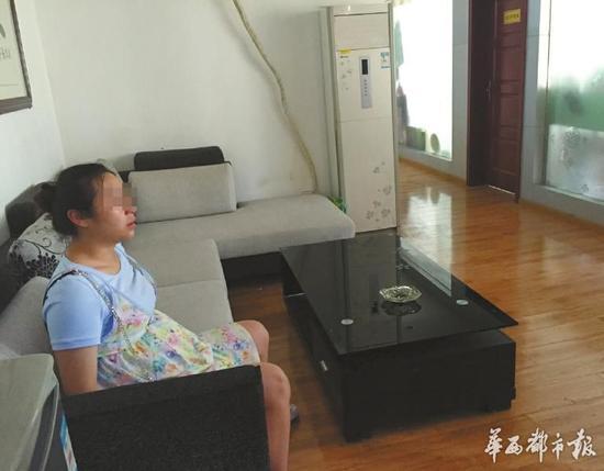 """孕妇王梅被迫接受""""离职协议""""。"""