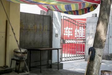 建在唐山市路南区人民医院北侧的康复村,成为唐山震后截瘫伤员的聚居地之一。中国青年网记者 孙钊 摄