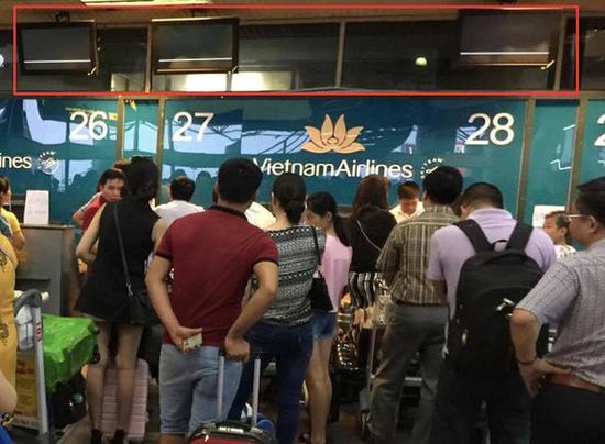 内排和新山一机场遭到自称来自中国的黑客入侵,机场关闭显示屏