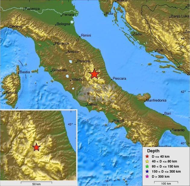 意大利佩鲁贾6.2级已致159人遇难