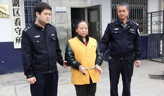 被抓的王某,网友称:这不是大明湖畔的容嬷嬷么