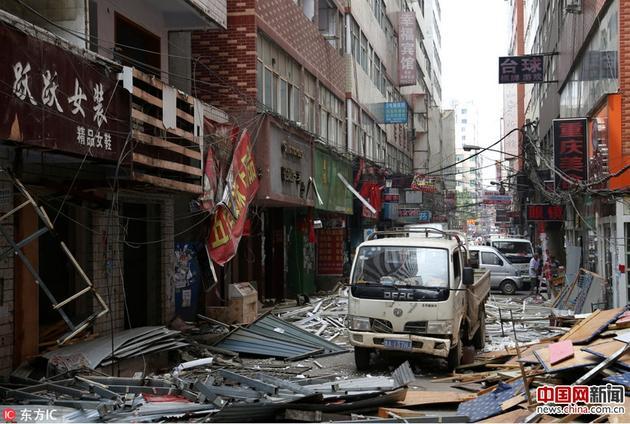 2016年8月24日,河南郑州,行将开拆的郑州市最大城中村陈寨。张为涛/东方IC