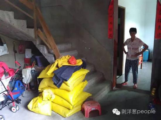 头号嫌犯陈文辉简陋的家。新京报记者 谷岳飞 摄