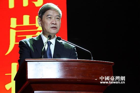 9月1日,国台办主任张志军在山东潍坊出席第22届鲁台经贸洽谈会并发表讲话。