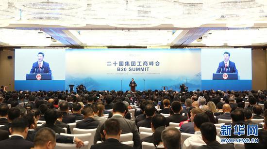 9月3日,国度主席习近平在杭州列席2016年二十国团体工商峰会揭幕式,并揭晓题为《国家开展新出发点 全世界增加新规划》的宗旨演讲。(图像来历:新华社 新华社记者丁林摄)