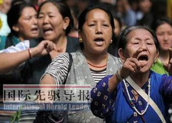 """印度""""流亡藏人""""处境艰难。"""