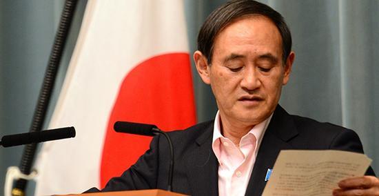 资料图:日本内阁秘书长菅义伟