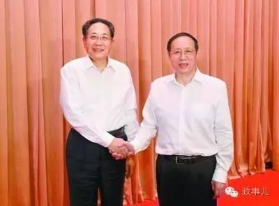 李锦斌(左)与王学军