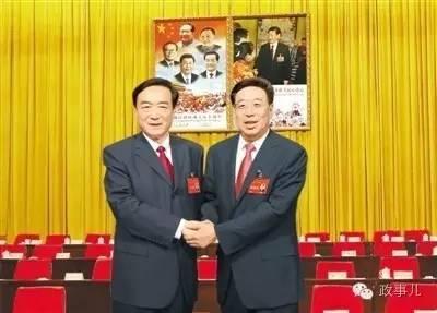陈全国(左)与吴英杰