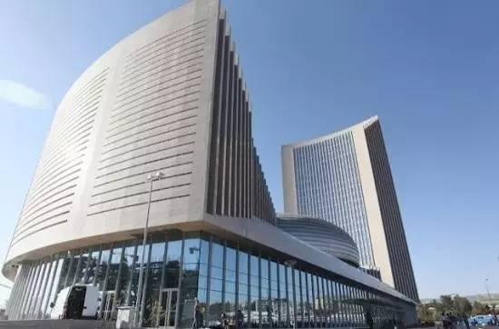 中国援建的非盟总部大楼。