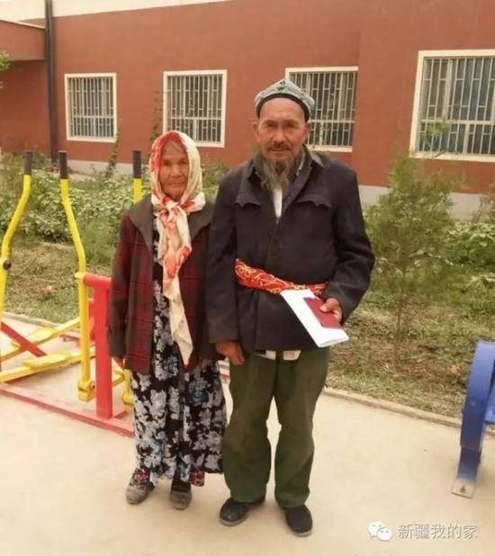 新疆71岁老汉娶114岁新娘 苦追一年终如愿(图)
