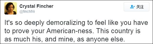 """""""罗,很高兴你能讲出这些,教导下一代意识到并反抗那些言论,你根本不需要向那种人证明什么。"""""""