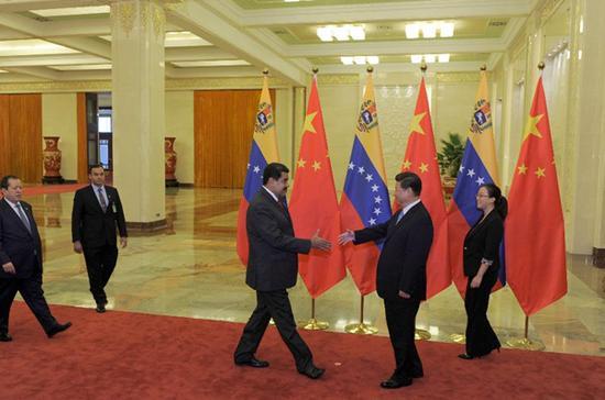 2015年9月1日马杜罗访问中国
