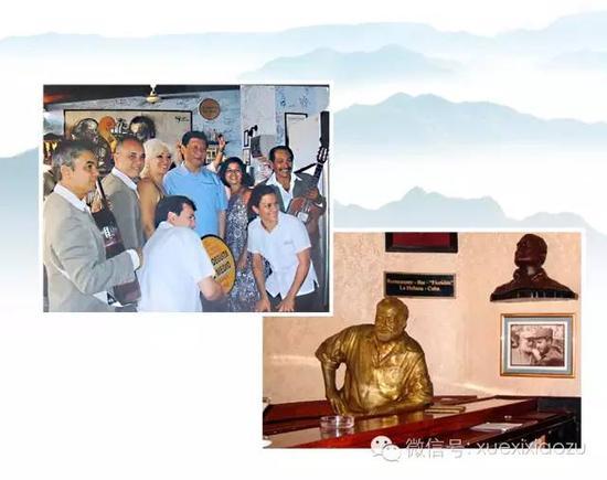 2011年,时任国家国度副主席的习近平拜访古巴,特地去了海明威常去的酒吧