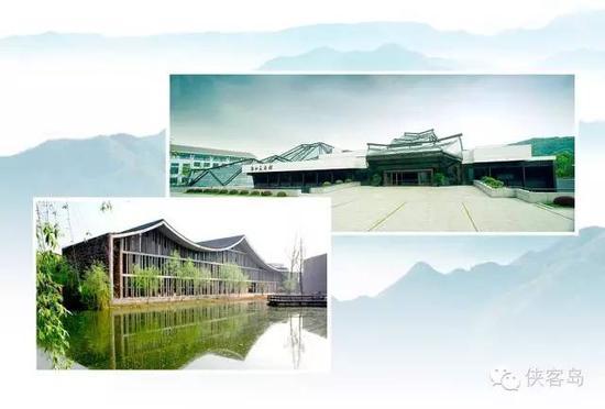 """浙江美术馆和中国美术学院的建筑体现了浓浓的""""中国风"""""""