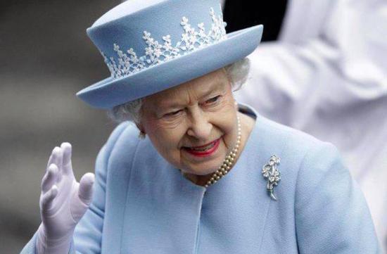 英国女王伊丽莎白二世。