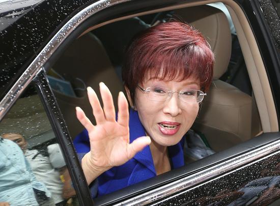 国民党主席洪秀柱。(图片来源:台湾《联合报》)