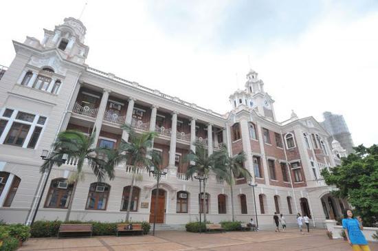 资料图片:香港大学。新华社发
