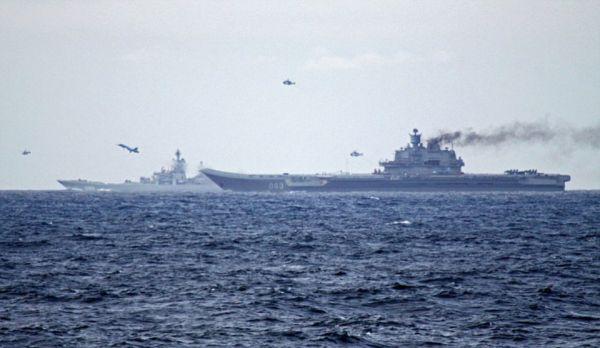 俄国出征中东航母 资料图