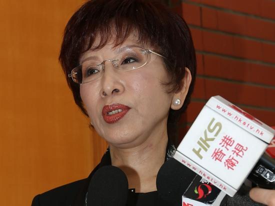国民党主席洪秀柱(资料图)