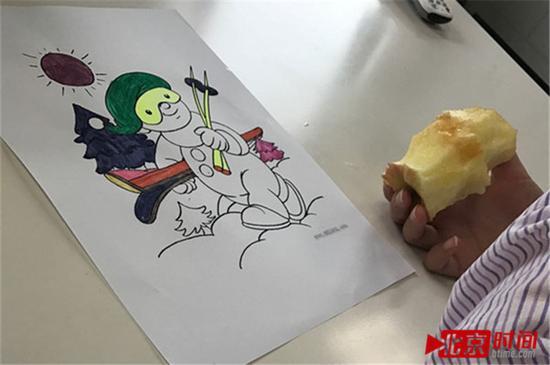 病人画的画